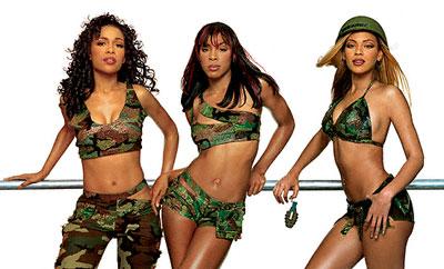 3 Destiny's Child pèsent moins lourd qu'1 Laurence Boccolini